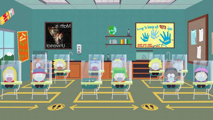 """The Pandemic Special,"" an episode bringing Covid-19 to the small town of South Park, can be found on the ""South Park"" website."
